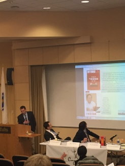 """""""Turbulent Waters: The Future of the South China Sea"""" with speaker Lyle Goldstein speaking about the current issues in the South China Sea and his new book Meeting China Halfway: How to Defuse the Emerging US-China Rivalry!"""
